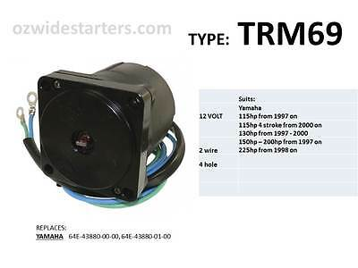 Yamaha tilt trim motor. suit 115hp-225hp models from 1997 on