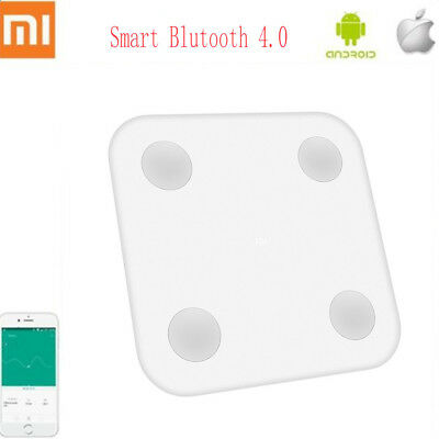 Xiaomi LED Bluetooth 4.0 Smart Weight Scale BMI Weighing BIA Health Care APP