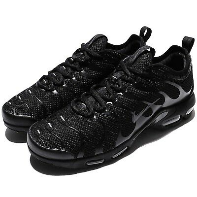 Nike Air Max Plus TN Ultra Triple Black Men Running Shoes Sneakers 898015-005