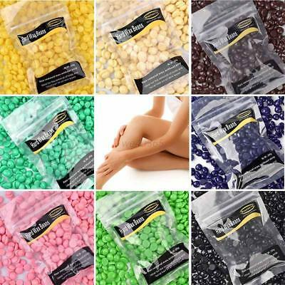 No Strip Depilatory Hot Film Hard Wax Beads Waxing Hair Removal Beans Multicolor