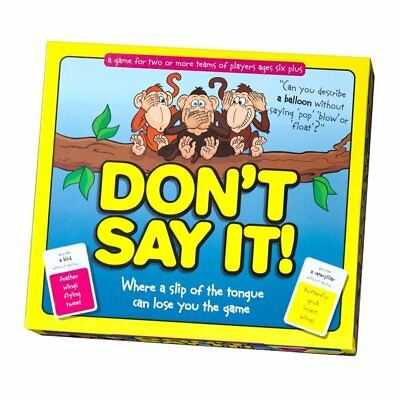Dont Say It Classic Word Game Family Kids Children 6 + Slip Tongue FAST DELIVERY