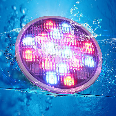 72W par56 Led Underwater Swimming Pool Light Stainless  RGB Remote Control lamp