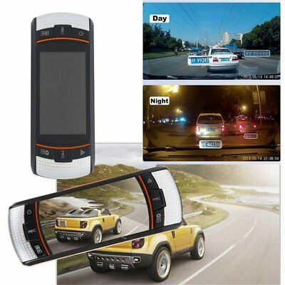 F90 2.7inch LCD Screen Tachograph Motion Detection Dual Lens Vehicle Camera PR
