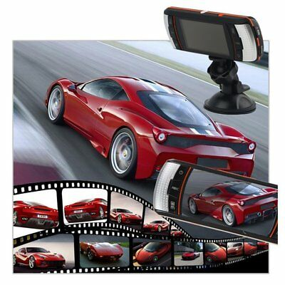 F90 2.7inch LCD Screen Tachograph Motion Detection Dual Lens Vehicle Camera PI