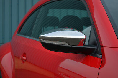 Chrome Wing Mirror Trim Set Covers To Fit Volkswagen Beetle (2011+)