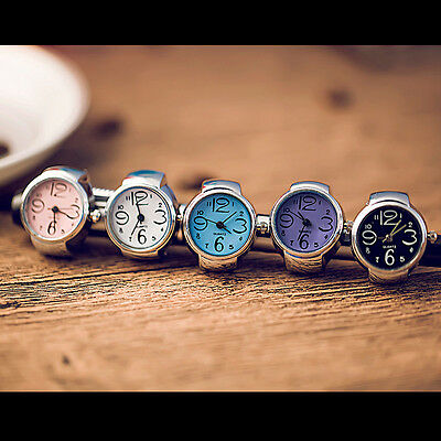 Fashion Stainless Steel Random Punk Band Creative Finger Ring Watches