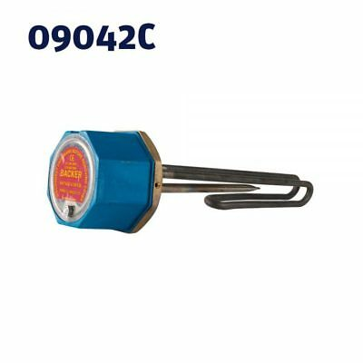 """1 3/4"""" Backer 11""""x3Kw Incoloy Immersion Heater To Suit Unvented Cylinders 1.75"""""""