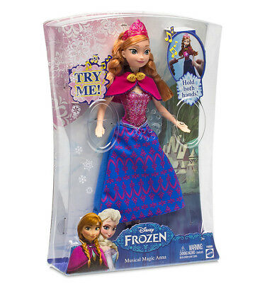Disney Frozen Musical Magic Anna Light Up Doll Y9966