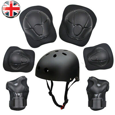 PROTECTION SKATEBOARD  SET BIKE SCOOTER HELMET KNEE ELBOW WRIST PADs  KIDS
