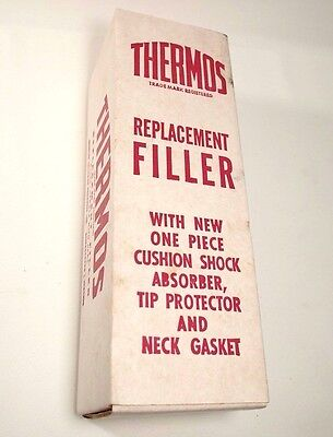 Thermos 22F Replacement Filler Vintage Unused Shock Absorber In Box Canada 16oz