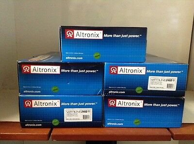 Altronix VERTILINE246D Power Supply 24PTC 24/28 VAC @ 17A Rack