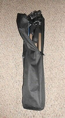 "Dynex DX-TRP60 60"" Tripod Camera/Camcorder.W/Carrying bag."