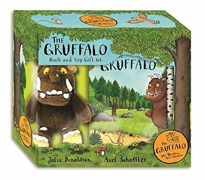 The Gruffalo: Book and Toy Gift Set by Julia Donaldson New Hardback Book