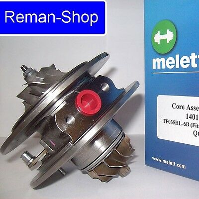 Original Melett UK turbocharger cartridge Audi Seat Skoda Volkswagen 1.9 TDI