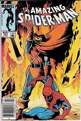 Amazing Spider-Man #261 vs Hobgoblin VF-NM Newsstand