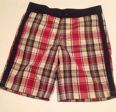 J Crew Crewcuts Size 8 Boys Swim Trunks NWT Board Shorts
