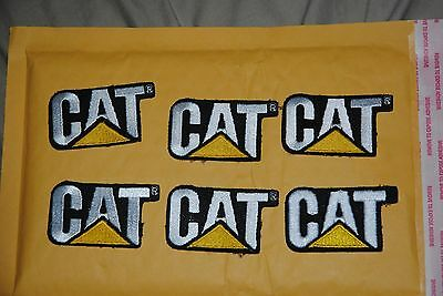 CAT tractor lot of 12 caterpillar patches
