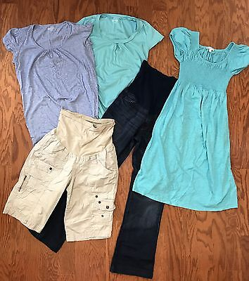 lot of a pea in the pod maternity clothes size small /xs jeans dress Top t-shirt