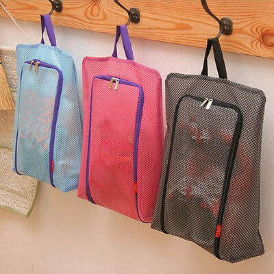 1Pcs Storage Hot Zipper Storage Bag Waterproof Portable Shoe Pouch Tote Travel