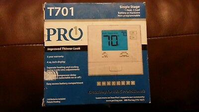NEW Pro1 T701 Digital Electronic Thermostat Non-programmable