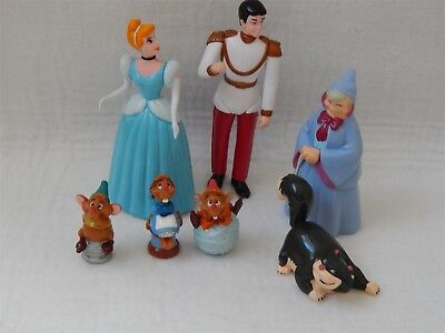 Disney Cinderella Plastic Figures/cake Decorations