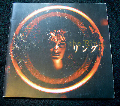 1998	Rasen /Ringu 	THE SPIRAL/ THE RING Deluxe Japanese Movie Program