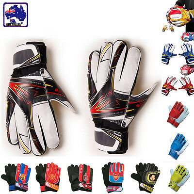Adult Child Soccer Football Goalkeeper Gloves Latex Protective Equipment OGLOV