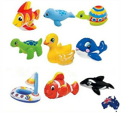 Bathtime Toys Inflatable Pool Beach Blow-up Toy Cute Animals Child Gifts GITOY01