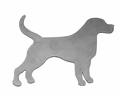 Dog Silhouette for Weathervane, Windvane, Signage and Brackets - Steel - MC1464