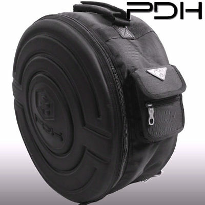 PDH Heavy Duty 14 x 5.5 Snare Drum Lined Bag with Back Pack straps 20mm Padding