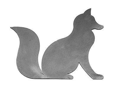 Fox Silhouette for Weathervanes, Windvanes, Signage and Brackets - Steel