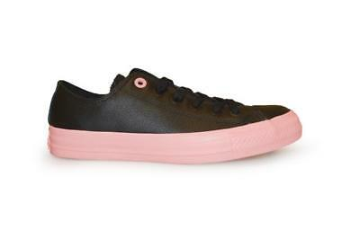 c10be29ace763 Unisex Converse Chuck Taylor All Star Ox Low - 552656C - Black Pink Trainers