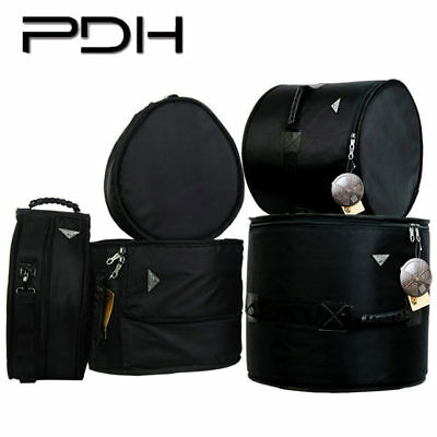 "PDH Premium Drum Kit Bag Set 5 Pce Plush Lined Rock Fusion 22"" 10"" 12"" 16"" 14"" S"