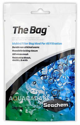 "Seachem The Bag 5"" x 10"" Ultra-Fine Media Bag for Aquarium Fish Tank Purigen"