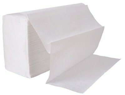 Leonardo 2 ply White Laminated Z Fold Paper Towels (3000 Towels) BUY 2+ 10% OFF