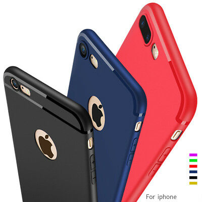 TPU SOFT SILICONE CLEAR GEL BACK CASE COVER FOR iPHONE 7/ 7 Plus /6 /6S