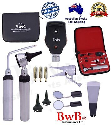 ENT Opthalmoscope Ophthalmoscope Otoscope Nasal Larynx Diagnostic Set CE BwB