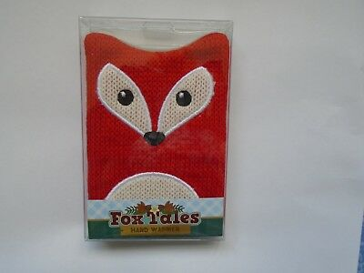 Fox Tails Hand Warmer New In Packet Gift Idea Stocking Filler
