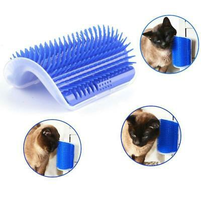 2New Pet Cats Supplies Device Self Groomer Cat Massage Catnip Toy Cat Brush Tool