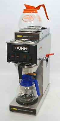 Bunn STF-15 Commercial 12-Cup Plumb-In Pourover Coffee Brewer Machine 120V 02700