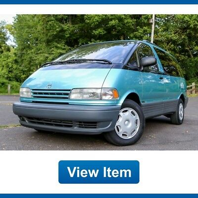 1995 Toyota Previa  1995 Toyota Previa LE All Trac AWD SC Supercharge 1 Owner Serviced CARFAX