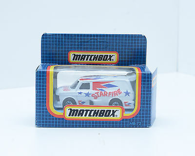 Matchbox MB-72 Ford Supervan, Starfire, 1987,  in Excellent Condition, 2219