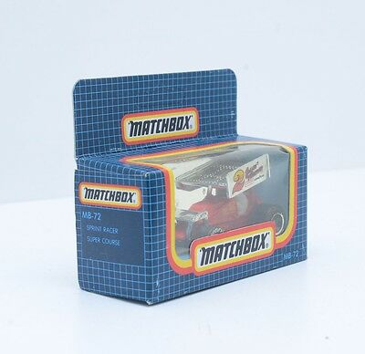 Matchbox MB-72, SPRINT RACER, SUPER COURSE,  in Excellent Condition, 2261