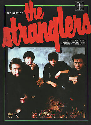 THE STRANGLERS Guitar TAB Sheet Music Book With Full Lyrics Songbook - 19 Songs