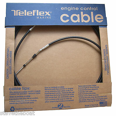 Universal Outboard Engine Control Cable 33-C Pin Lenght 15mm Engine Cable End