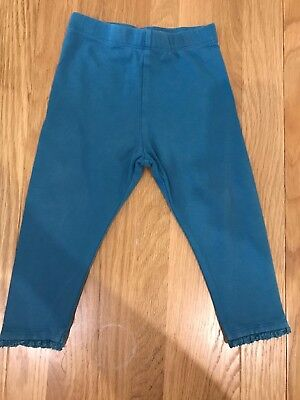 Baby Girls Cyan Leggings Size 12-18 Months From Next