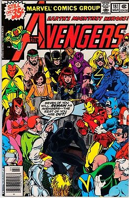 Avengers #181  - 1st Scott Lang who becomes Ant-Man VF-NM