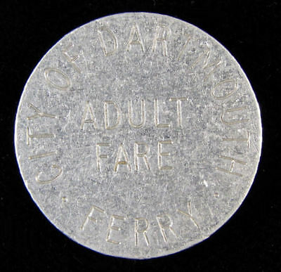 City Of Dartmouth Ferry One Adult Fare token
