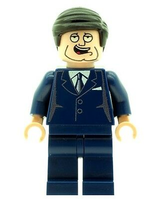 Custom Designed Minifigure Mick The Frontman Rock and Roll Printed On LEGO Parts