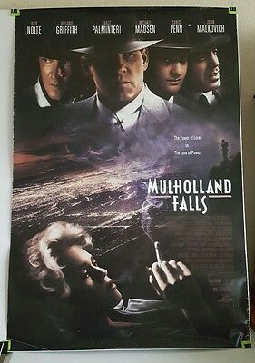 MULHOLLAND FALLS Original US DS One Sheet Movie Theater Poster Rolled Nick Nolte